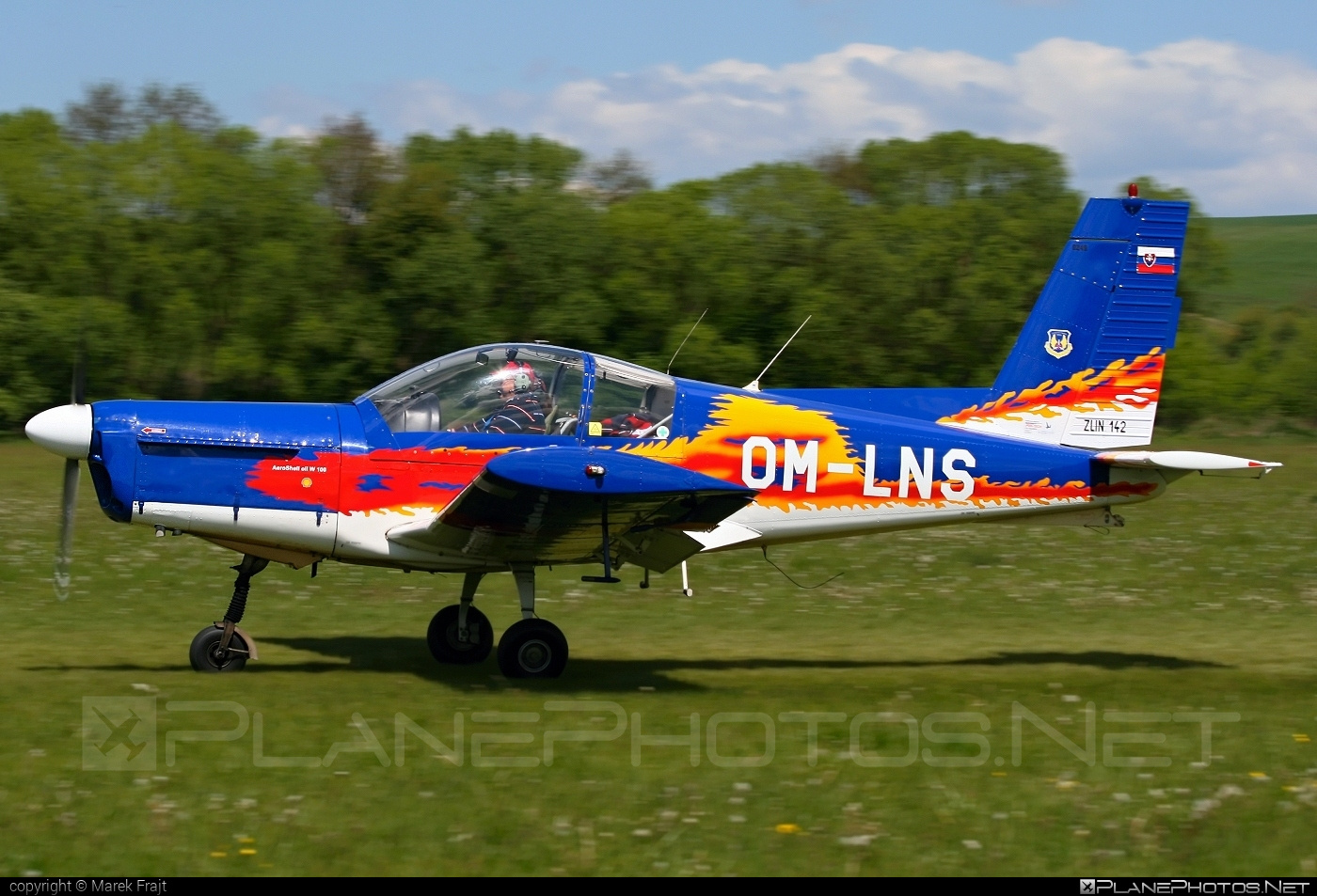 Zlin Z-142 - OM-LNS operated by Private operator #z142 #zlin #zlin142