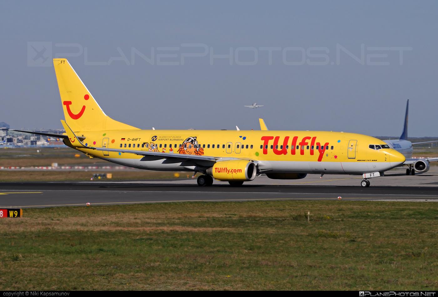 TUIfly Boeing 737-800 - D-AHFT #b737 #boeing
