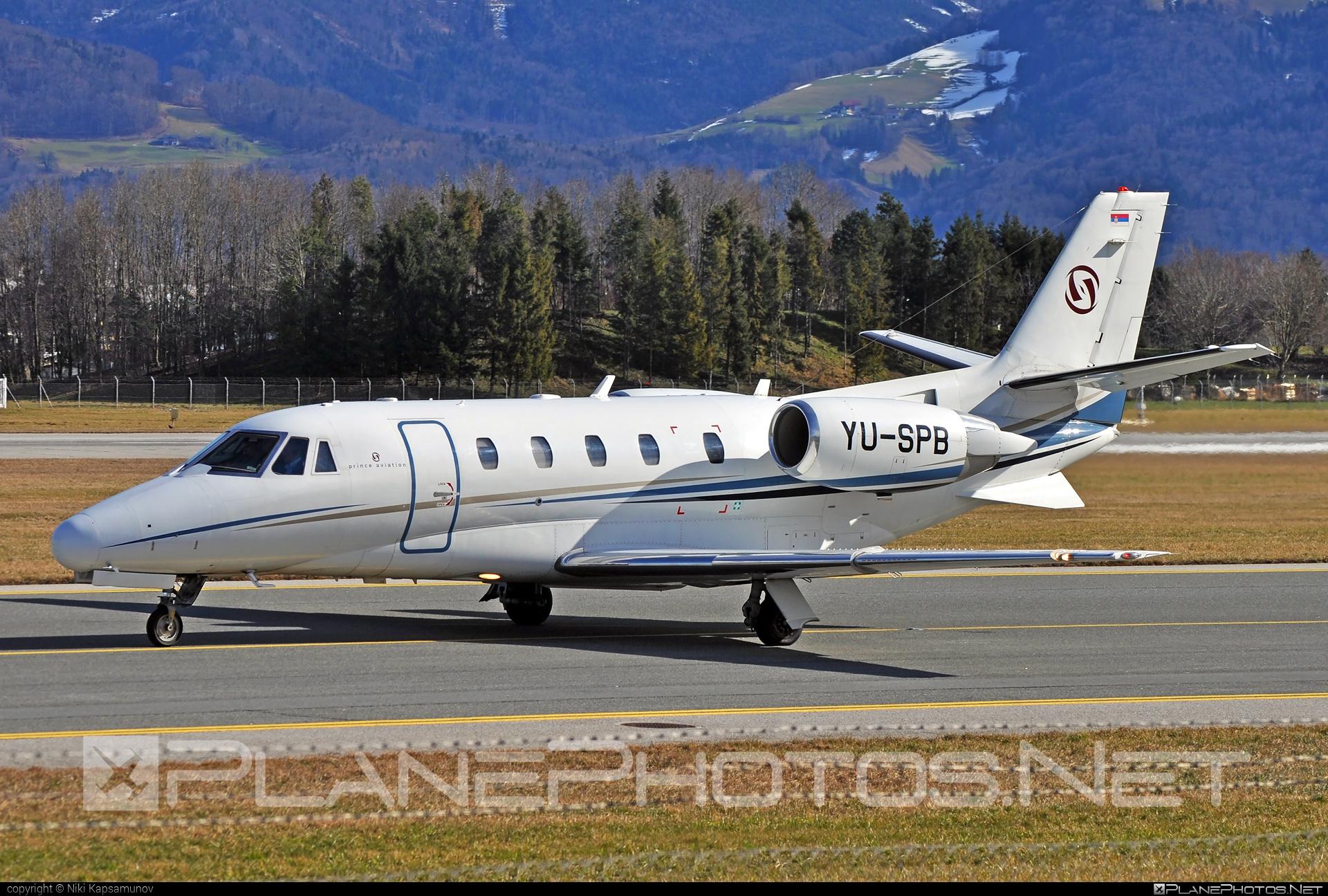 Cessna 560XL Citation XLS - YU-SPB operated by Prince Aviation #cessna #cessna560 #cessna560citation #cessna560xl #cessna560xlcitationxls #cessnacitation #citationxls