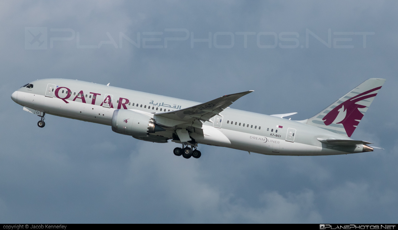 Boeing 787-8 Dreamliner - A7-BCI operated by Qatar Airways #b787 #boeing #boeing787 #dreamliner #qatarairways