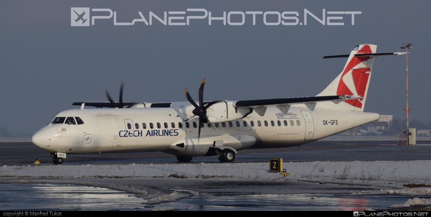 CSA Czech Airlines ATR 72-212A - OK-GFS #atr #csa #czechairlines
