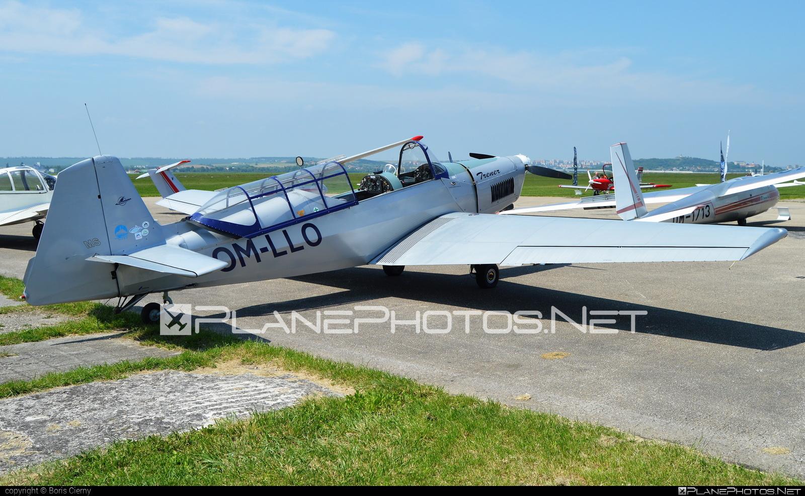 Zlin Z-226MS Trenér - OM-LLO operated by Slovenský národný aeroklub (Slovak National Aeroclub) #z226 #z226trener #zlin #zlin226 #zlintrener