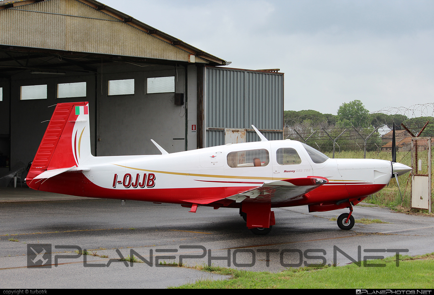 Mooney M20K 252 TSE - I-OJJB operated by Private operator #mooney