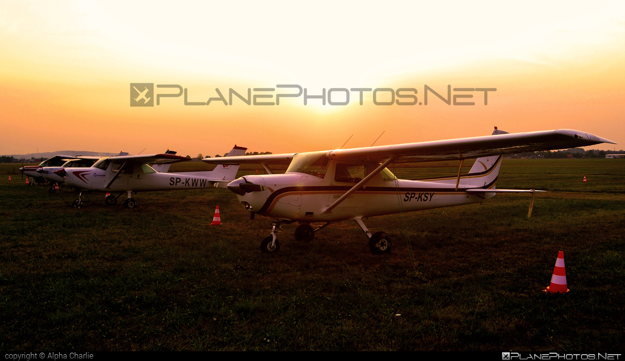 Cessna 152 II - SP-KSY operated by Private operator #cessna #cessna152 #cessna152ii