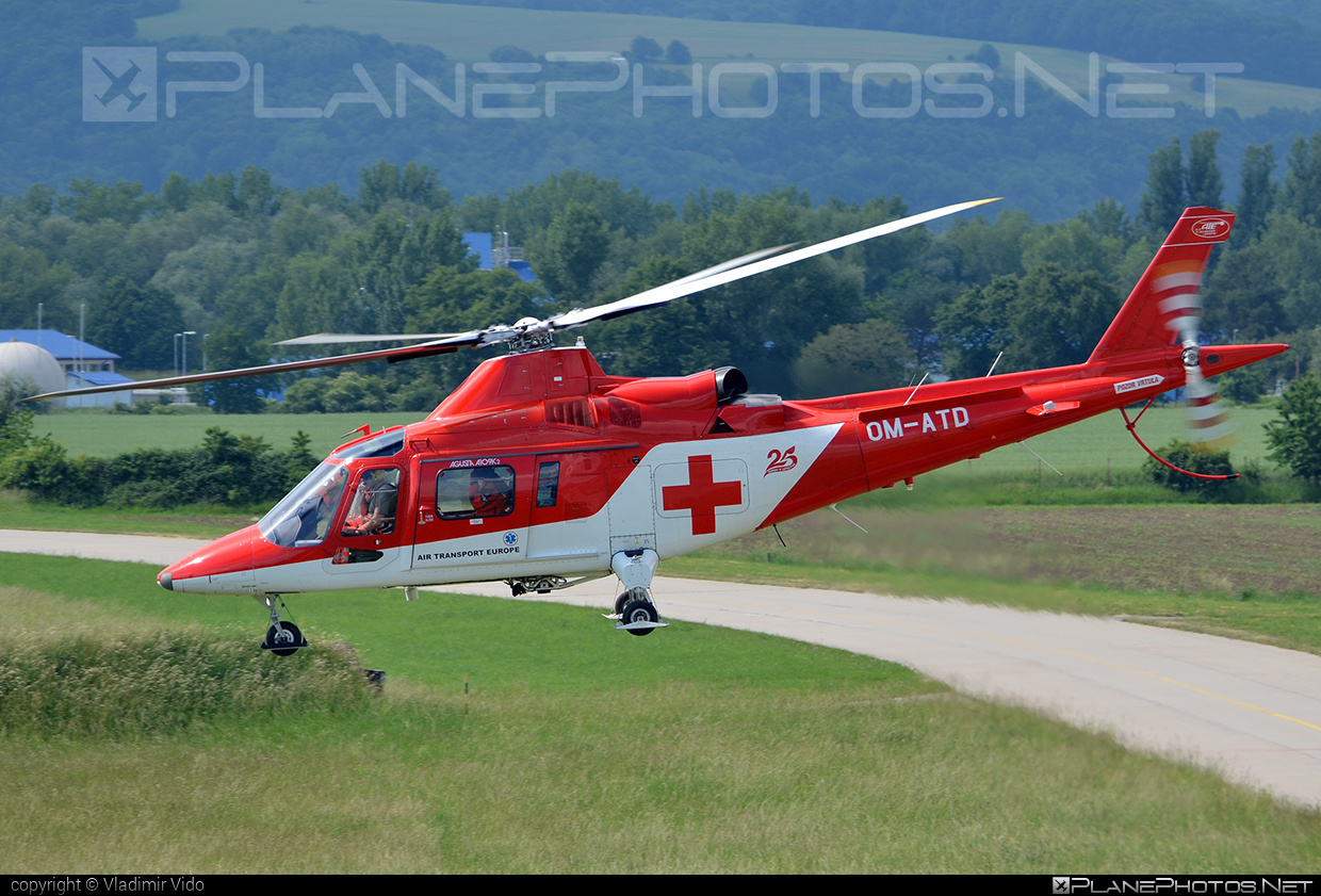 Agusta A109K2 - OM-ATD operated by Air Transport Europe #a109 #a109k2 #agusta #agusta109 #agustaa109 #agustaa109k2 #airtransporteurope