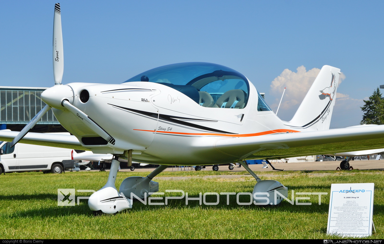 TL-Ultralight TL-2000 Sting S4 - OK-PUA 69 operated by Private operator