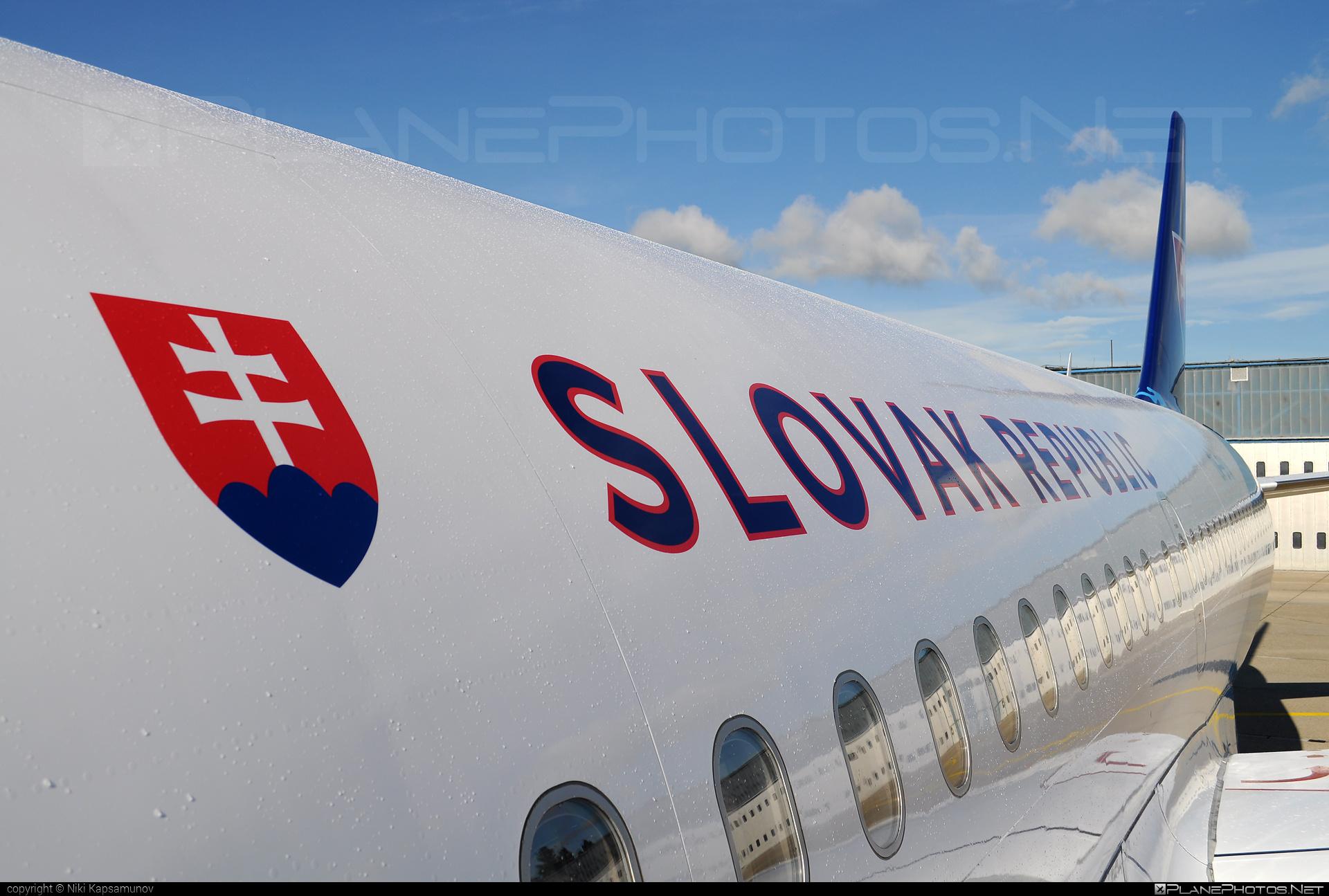 Letecký útvar MV SR (Slovak Government Flying Service) Airbus ACJ319-115 - OM-BYA