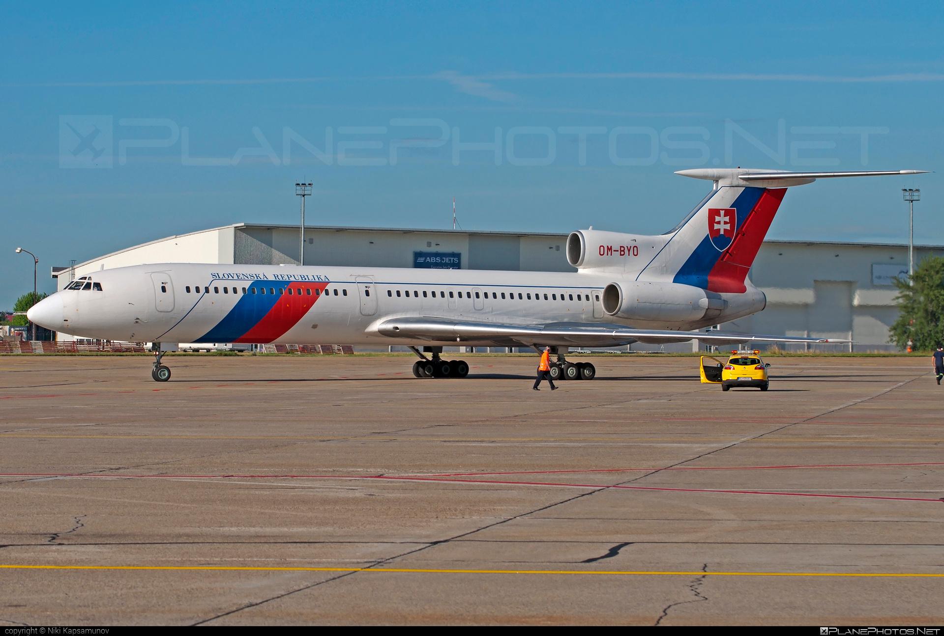 Tupolev Tu-154M - OM-BYO operated by Letecký útvar MV SR (Slovak Government Flying Service) #tu154 #tu154m #tupolev