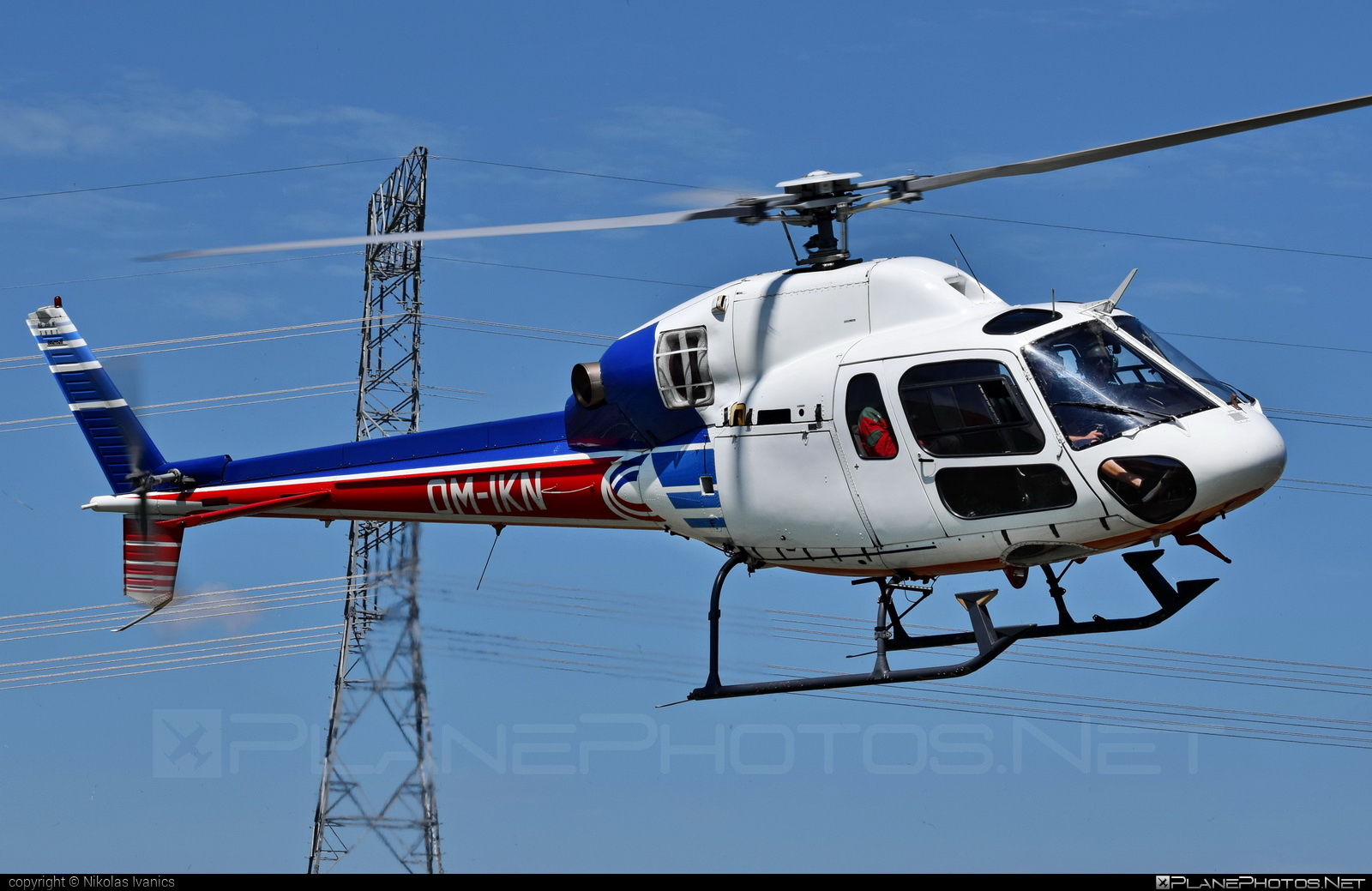 Aerospatiale AS355 Ecureuil 2 - OM-IKN operated by EHC Service #aerospatiale