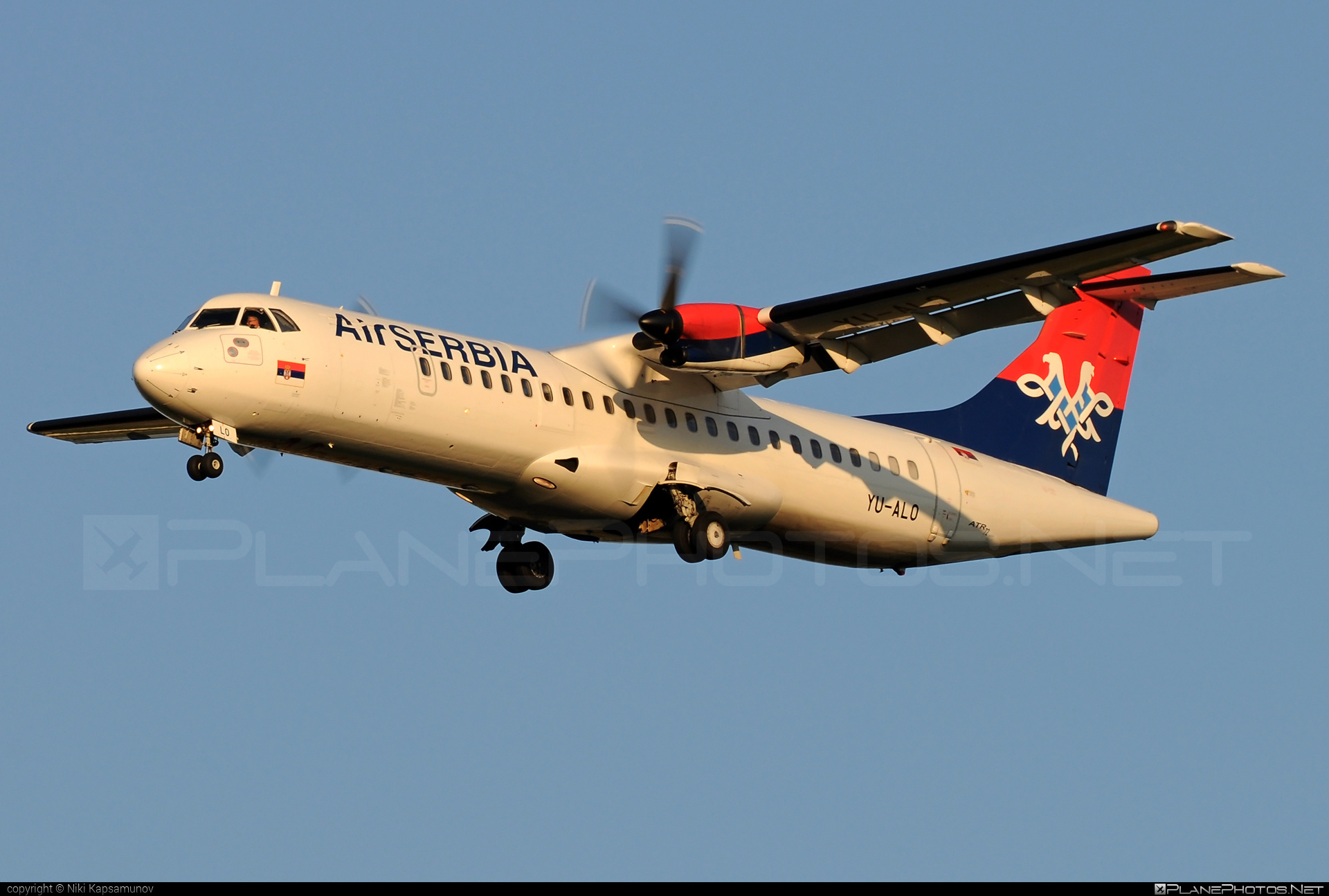 ATR 72-202 - YU-ALO operated by Air Serbia #atr