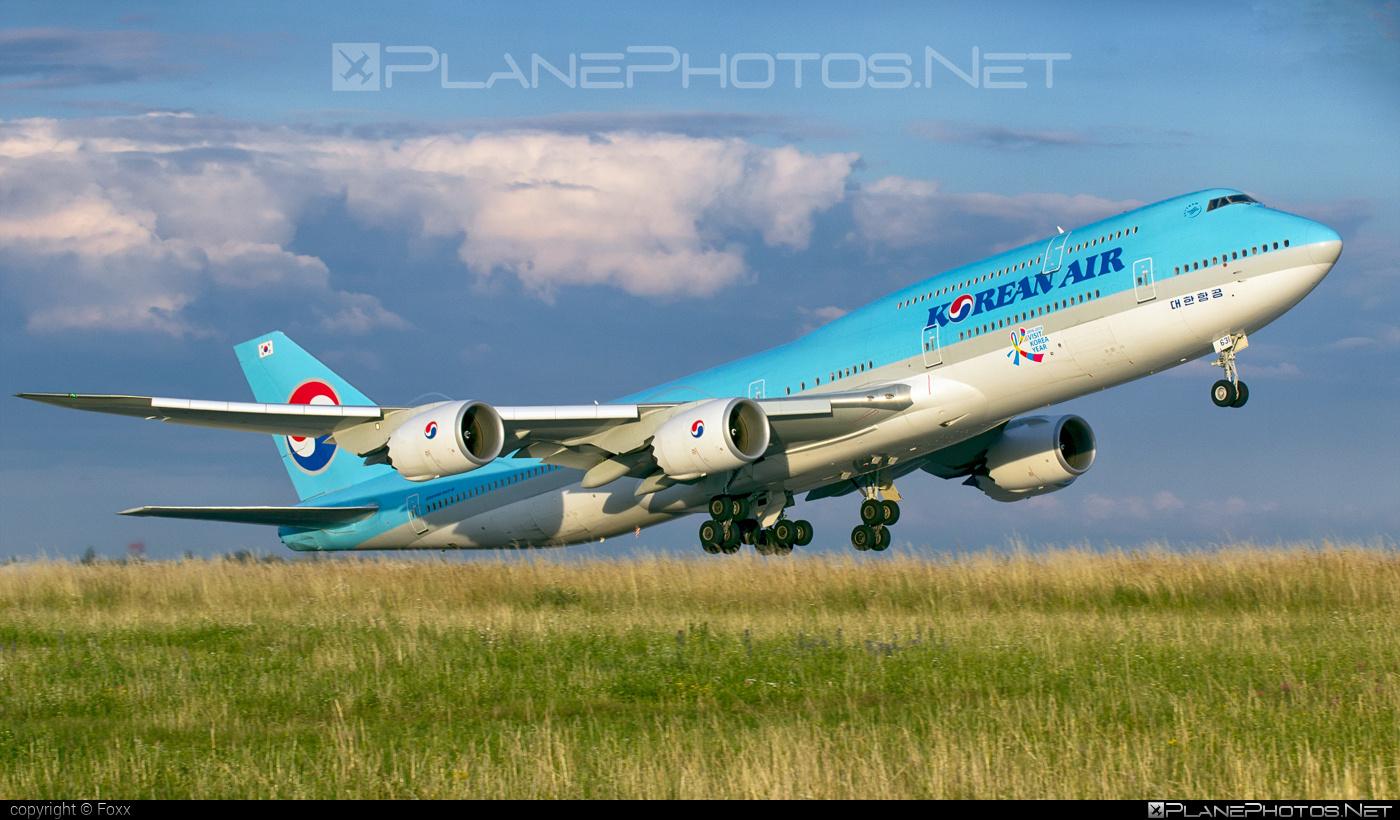 Boeing 747-8 - HL7631 operated by Korean Air #b747 #boeing #boeing747 #jumbo #koreanair