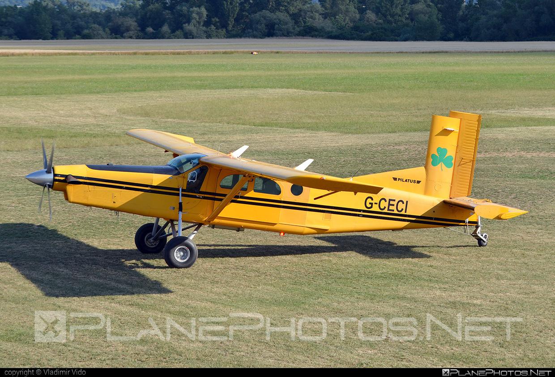 Pilatus PC-6/B2-H4 Turbo Porter - G-CECI operated by Aeroklub Dubnica nad Váhom #pilatus