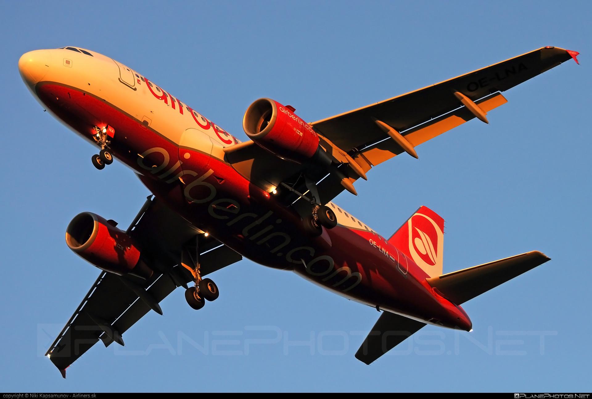 Airbus A319-112 - OE-LNA operated by Niki #a319 #a320family #airbus #airbus319 #flyniki #niki