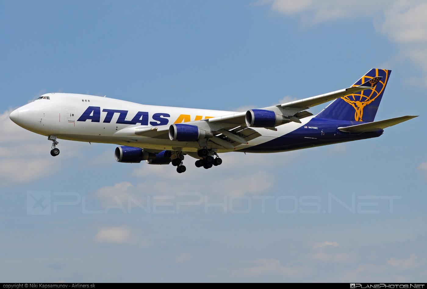 Boeing 747-400F - N475MC operated by Atlas Air #b747 #boeing #boeing747 #jumbo