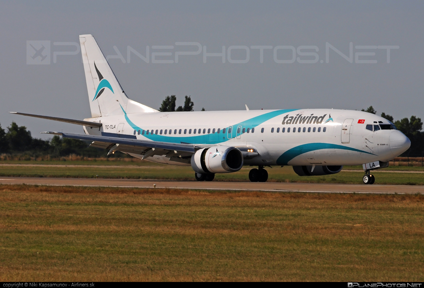 Boeing 737-400 - TC-TLA operated by Tailwind Airlines #b737 #boeing #boeing737