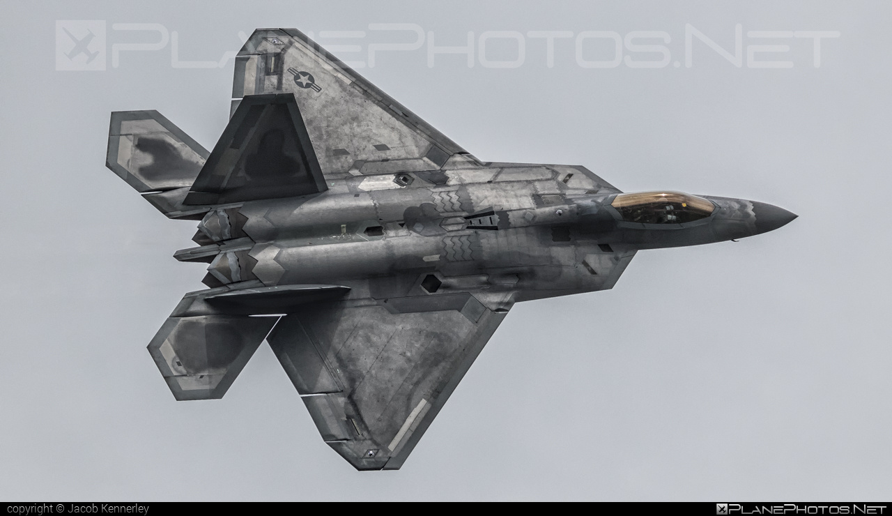 Lockheed Martin F-22A Raptor - 09-4191 operated by US Air Force (USAF) #lockheedmartin #usaf #usairforce