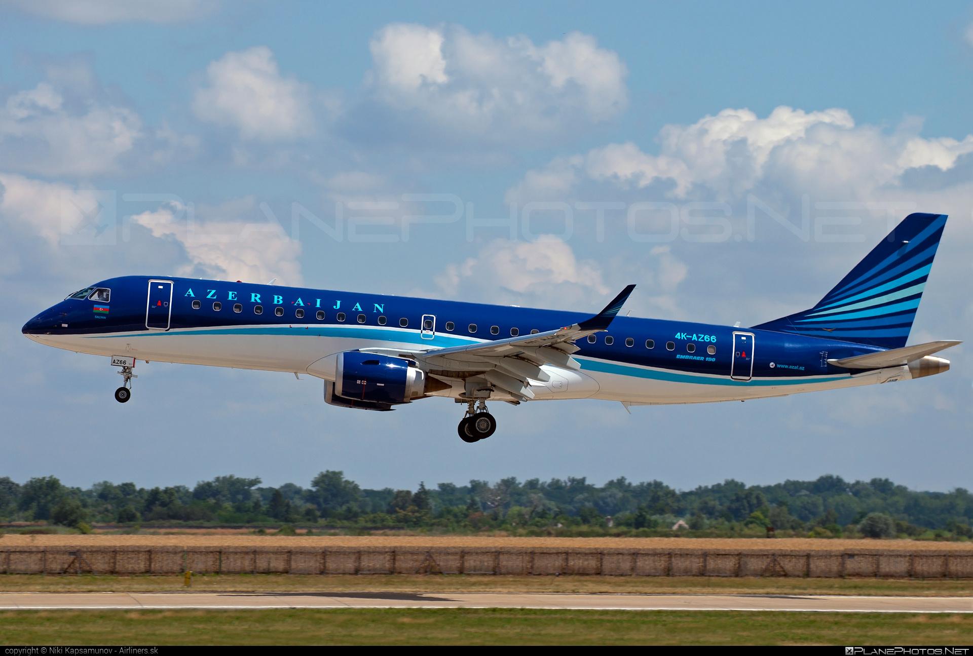 Embraer E190IGW (ERJ-190-100IGW) - 4K-AZ66 operated by AZAL Azerbaijan Airlines #e190 #e190100 #e190100igw #e190igw #embraer #embraer190 #embraer190100igw #embraer190igw