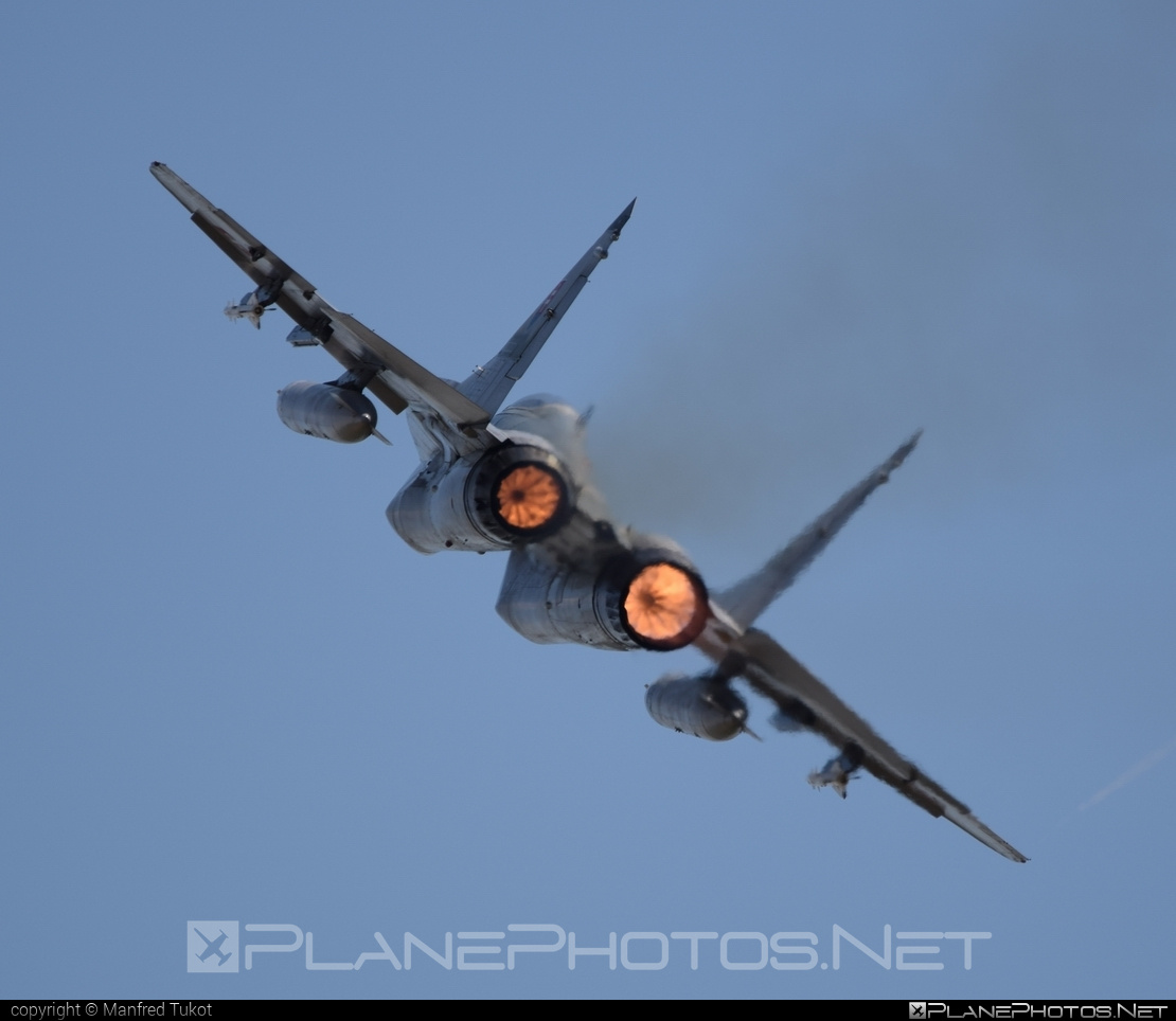 Mikoyan-Gurevich MiG-29AS - 6627 operated by Vzdušné sily OS SR (Slovak Air Force) #mig #mig29 #mig29as #mikoyangurevich #slovakairforce #vzdusnesilyossr