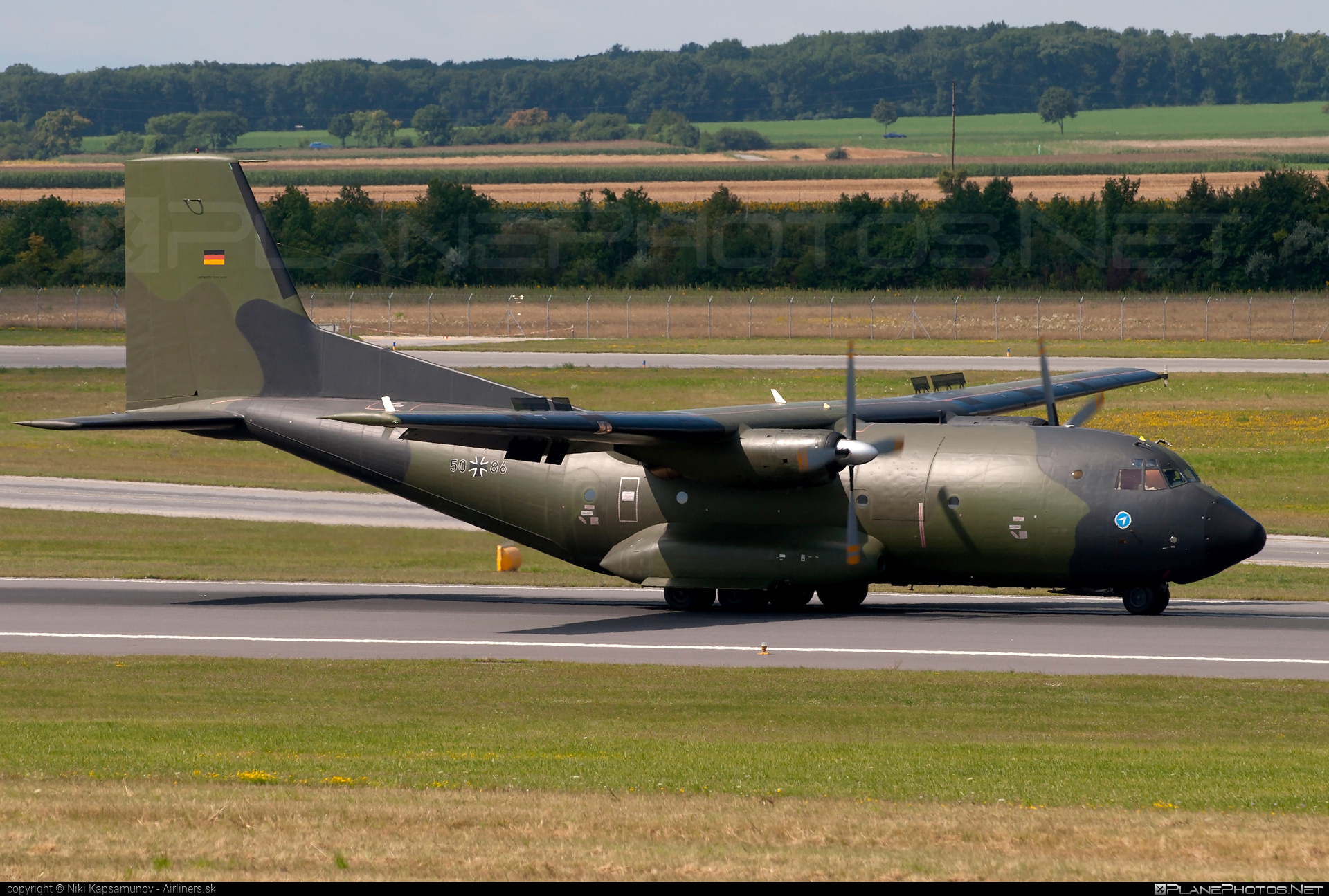 Transall C-160D - 50+86 operated by Luftwaffe (German Air Force) #transall