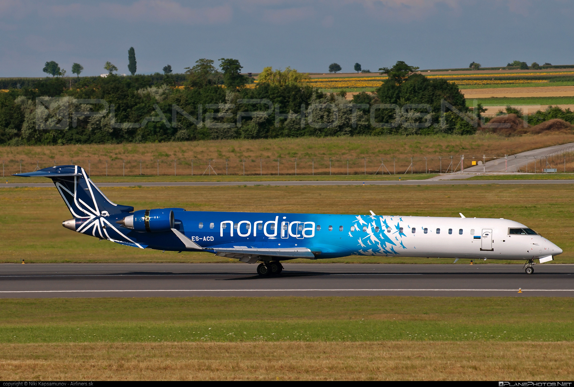 Bombardier CRJ900 NextGen - ES-ACD operated by Nordica #bombardier #crj900 #crj900nextgen #crj900ng