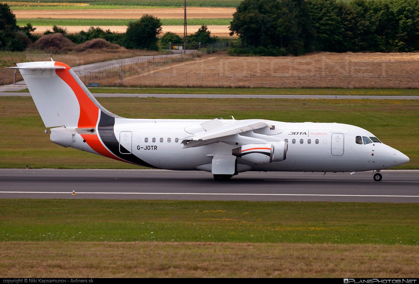 British Aerospace Avro RJ85 - G-JOTR operated by Jota Aviation #avro146rj85 #avrorj85 #bae146 #britishaerospace #jumbolino