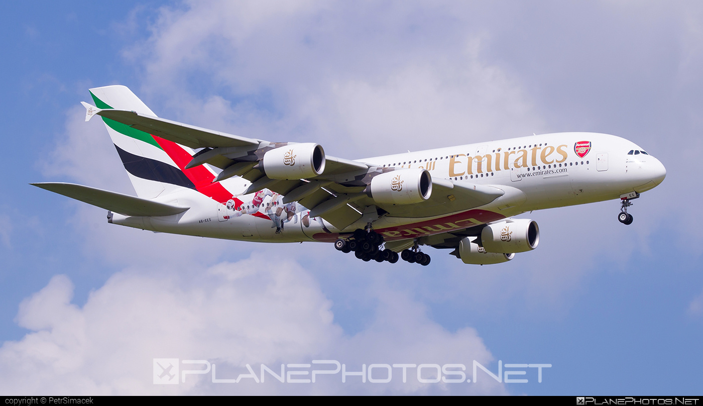 Airbus A380-861 - A6-EES operated by Emirates #a380 #a380family #airbus #airbus380 #emirates