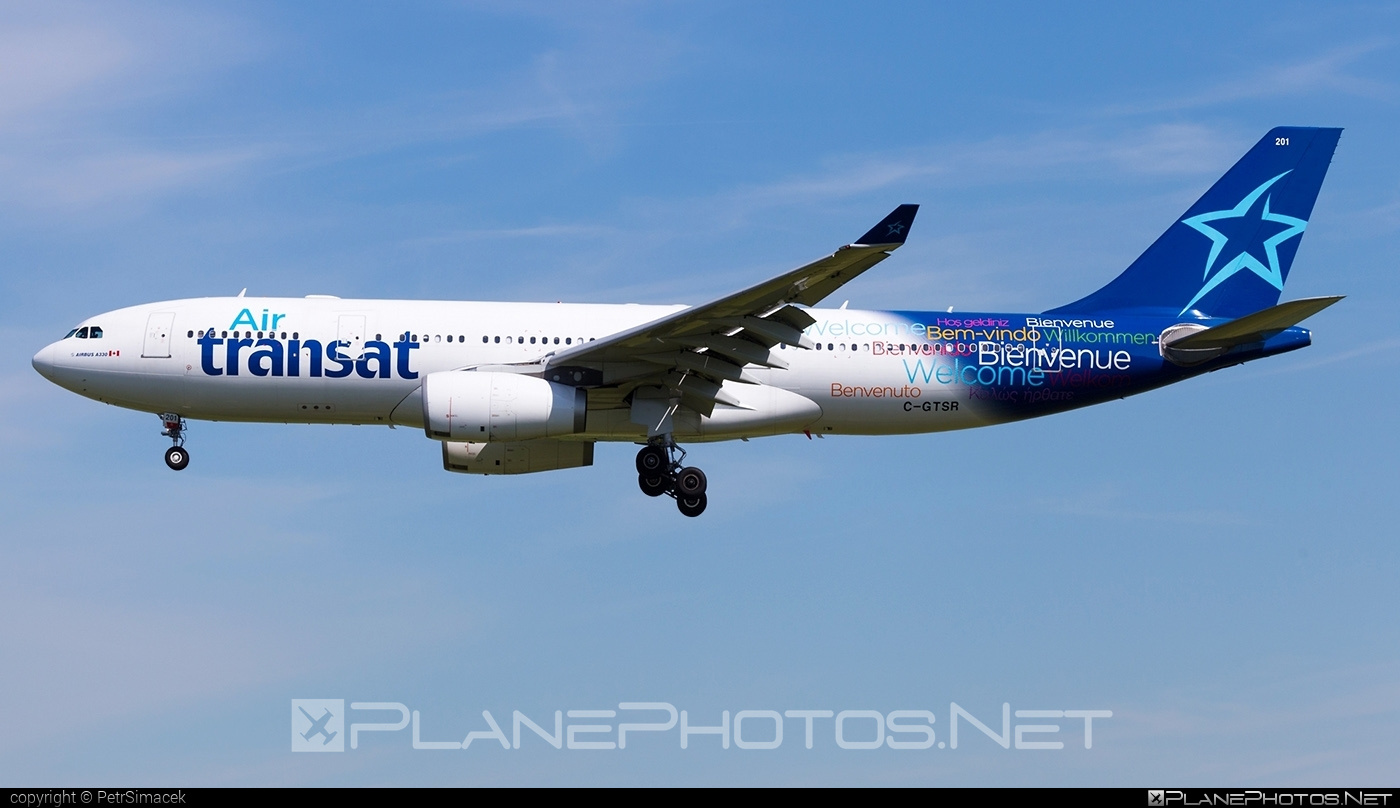 Airbus A330-243 - C-GTSR operated by Air Transat #a330 #a330family #airbus #airbus330