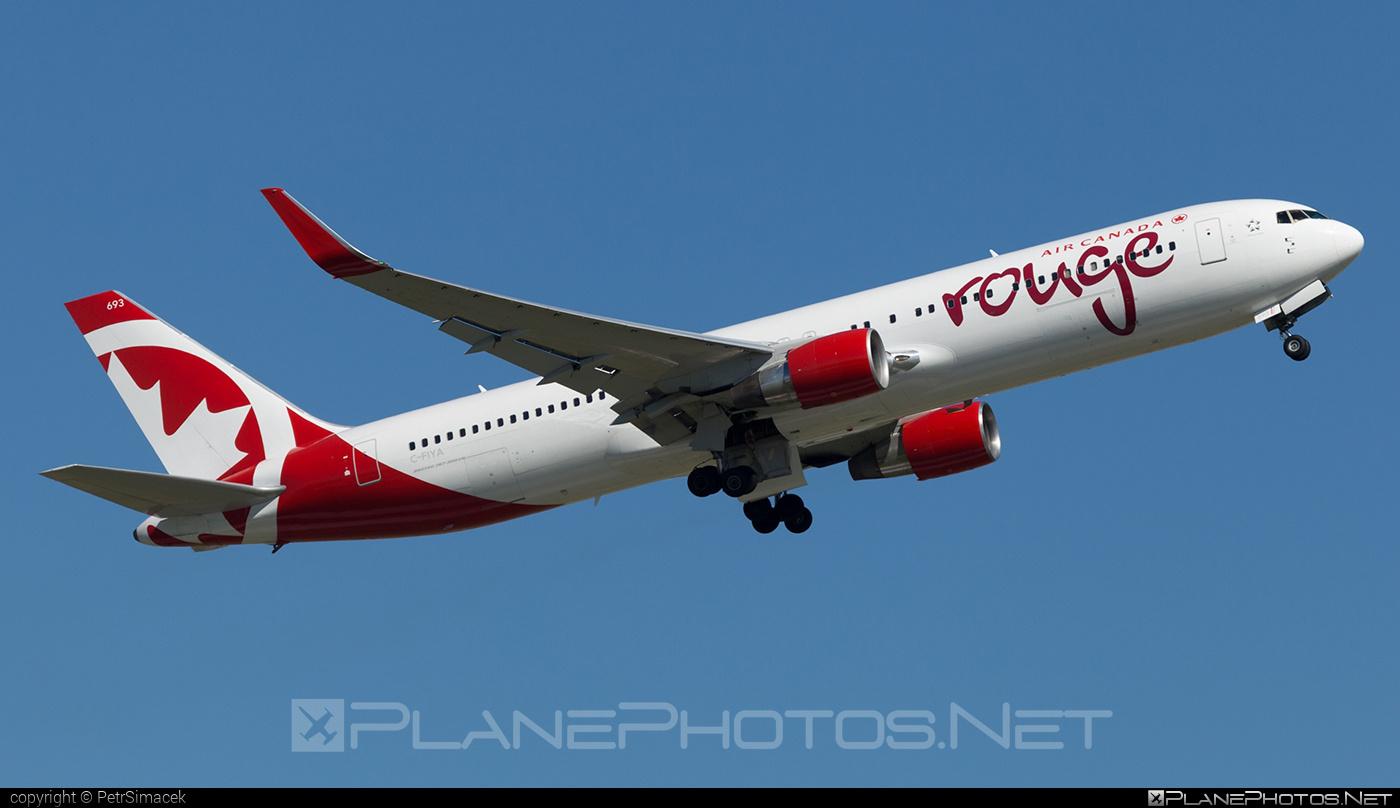 Boeing 767-300ER - C-FIYA operated by Air Canada Rouge #aircanadarouge #b767 #b767er #boeing #boeing767