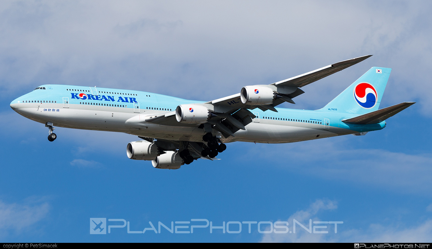 Boeing 747-8 - HL7633 operated by Korean Air #b747 #boeing #boeing747 #jumbo #koreanair