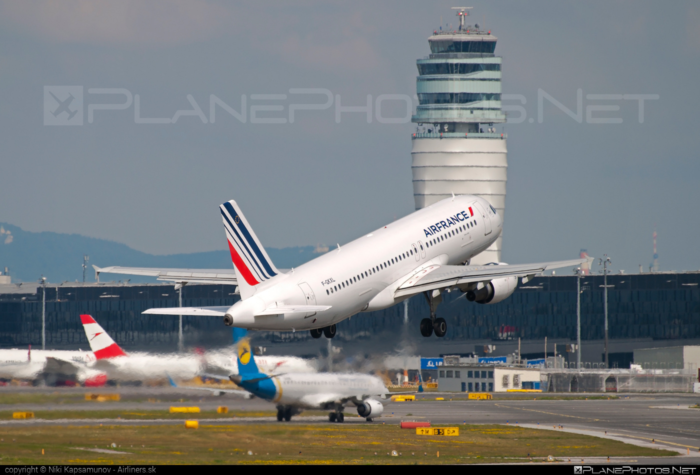 Airbus A320-214 - F-GKXL operated by Air France #a320 #a320family #airbus #airbus320 #airfrance