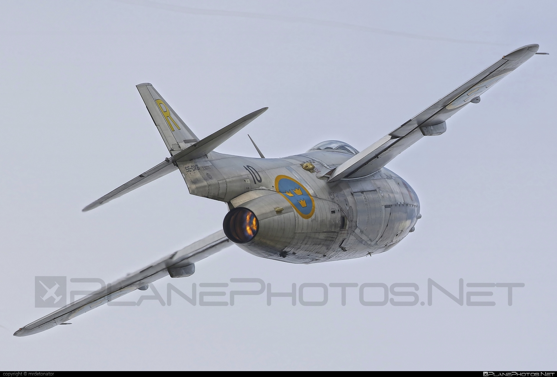 Saab J 29F Tunnan - SE-DXB operated by Swedish Air Force Historic Flight #natodays #natodays2015 #saab