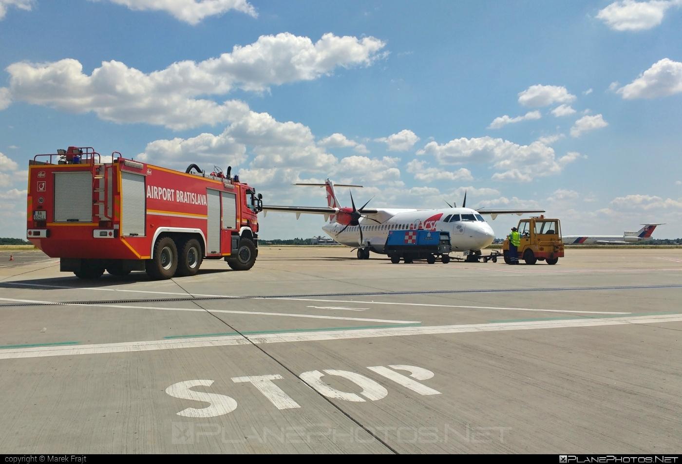 ATR 72-212A - OK-GFQ operated by CSA Czech Airlines #atr #csa #czechairlines
