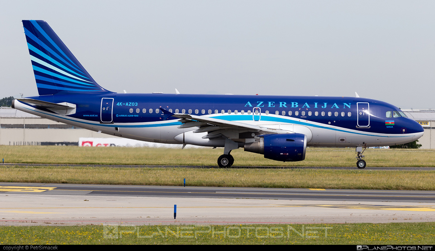 Airbus A319-111 - 4K-AZ03 operated by AZAL Azerbaijan Airlines #a319 #a320family #airbus #airbus319