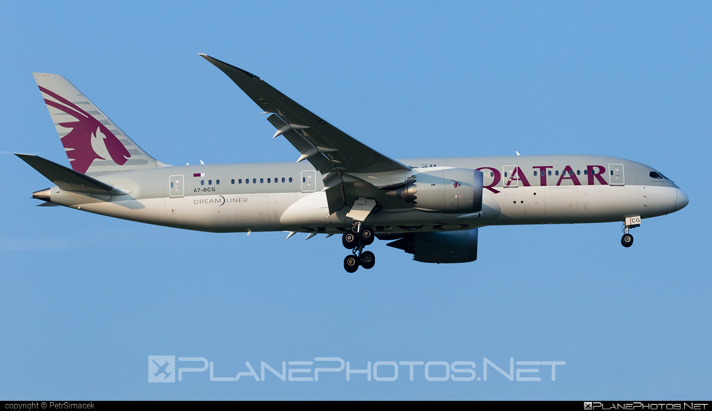 Boeing 787-8 Dreamliner - A7-BCG operated by Qatar Airways #b787 #boeing #boeing787 #dreamliner #qatarairways