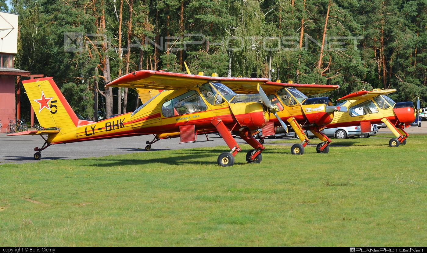 PZL-Okęcie PZL-104 Wilga 35A - LY-BHK operated by Private operator #pzl #pzlokecie