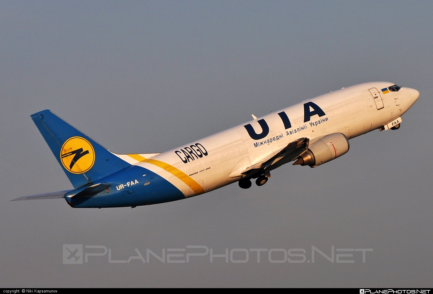 Boeing 737-300F - UR-FAA operated by Ukraine International Airlines Cargo #b737 #b737f #b737freighter #boeing #boeing737