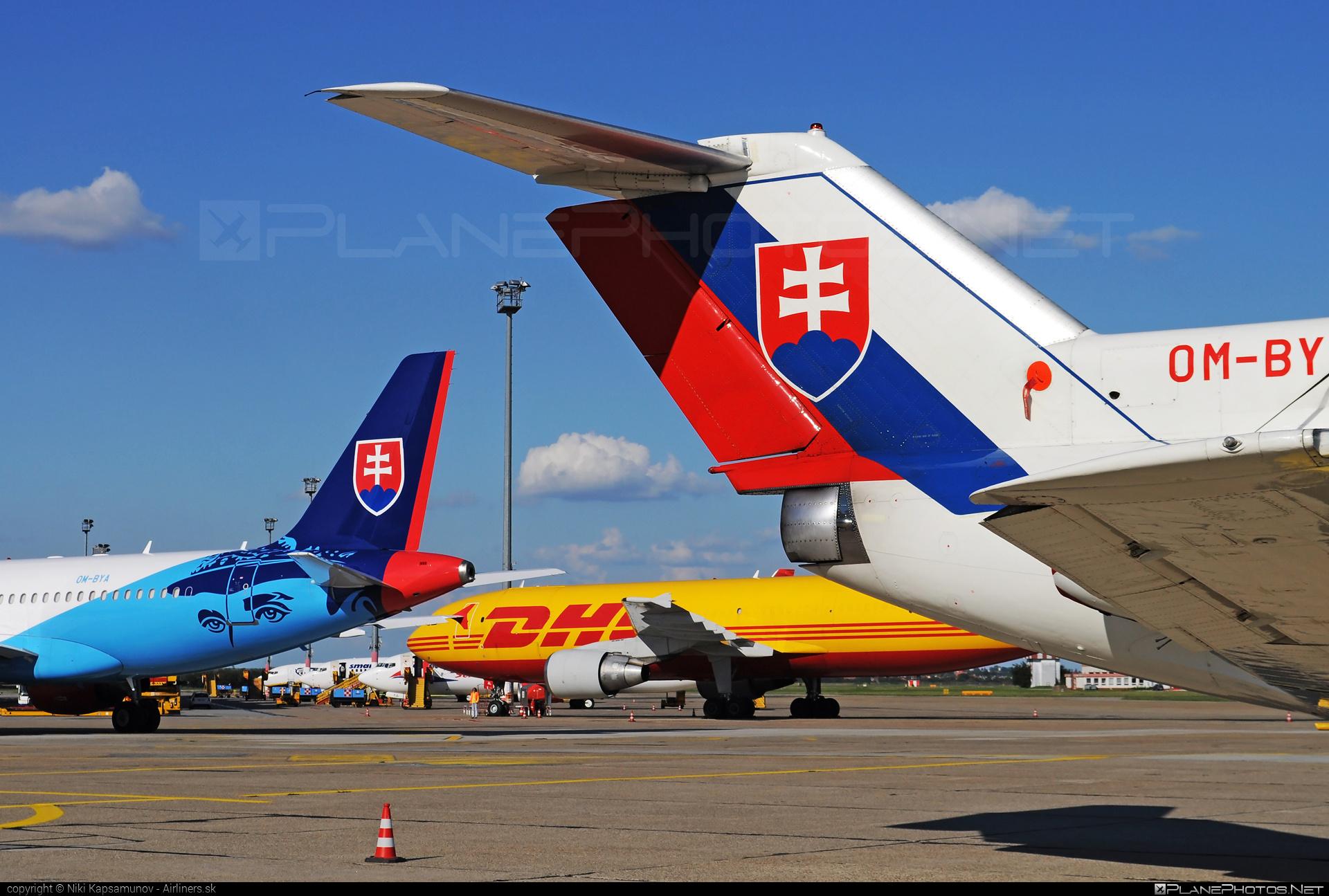Yakovlev Yak-40 - OM-BYL operated by Letecký útvar MV SR (Slovak Government Flying Service) #SlovakGovernmentFlyingService #leteckyutvarMVSR #yak #yak40 #yakovlev