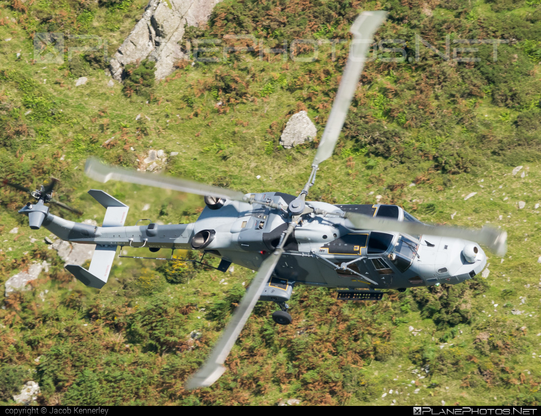 AgustaWestland Wildcat HMA2 - ZZ517 operated by Royal Navy #agustawestland #machloop