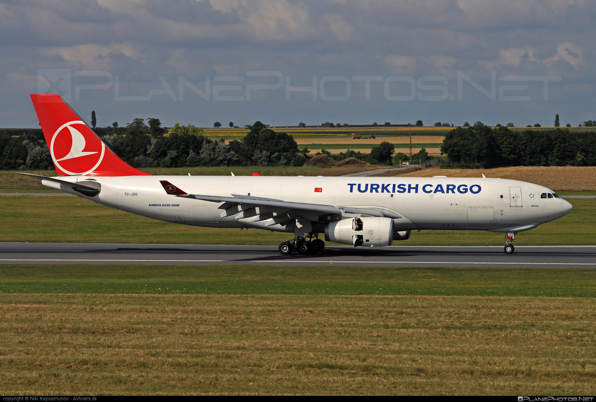 Turkish Airlines Cargo Airbus A330-243F - TC-JDO #a330 #a330family #airbus #turkishairlinescargo
