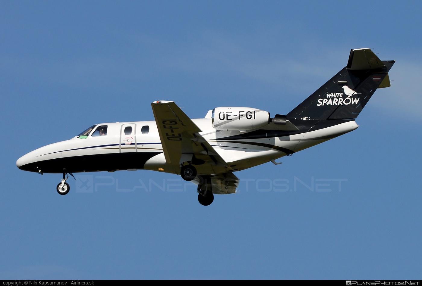 Cessna 525 CitationJet - OE-FGI operated by SalzburgJetAviation #cessna #cessna525 #cessnacitation #citationjet