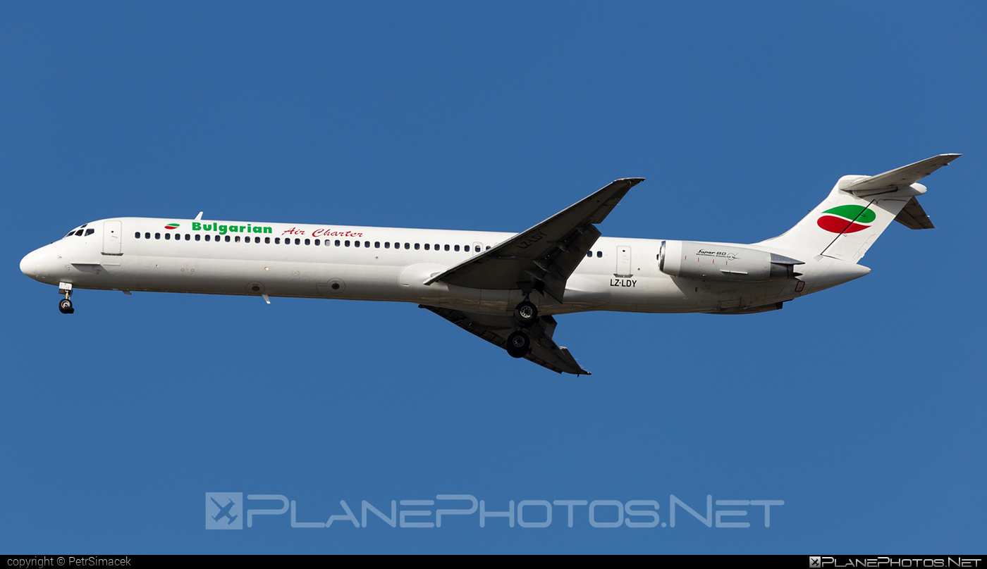 McDonnell Douglas MD-82 - LZ-LDY operated by Bulgarian Air Charter #bulgarianaircharter #mcdonnelldouglas #mcdonnelldouglas80 #mcdonnelldouglas82 #mcdonnelldouglasmd80 #mcdonnelldouglasmd82 #md80 #md82