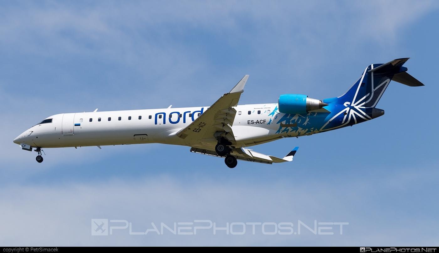 Bombardier CRJ701ER - ES-ACF operated by Nordica #bombardier #crj701 #crj701er