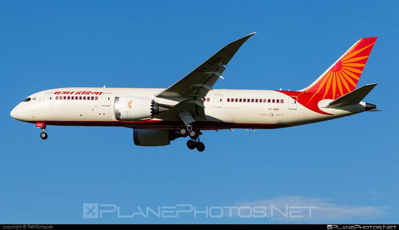 Boeing 787-8 Dreamliner - VT-ANA operated by Air India #b787 #boeing #boeing787 #dreamliner