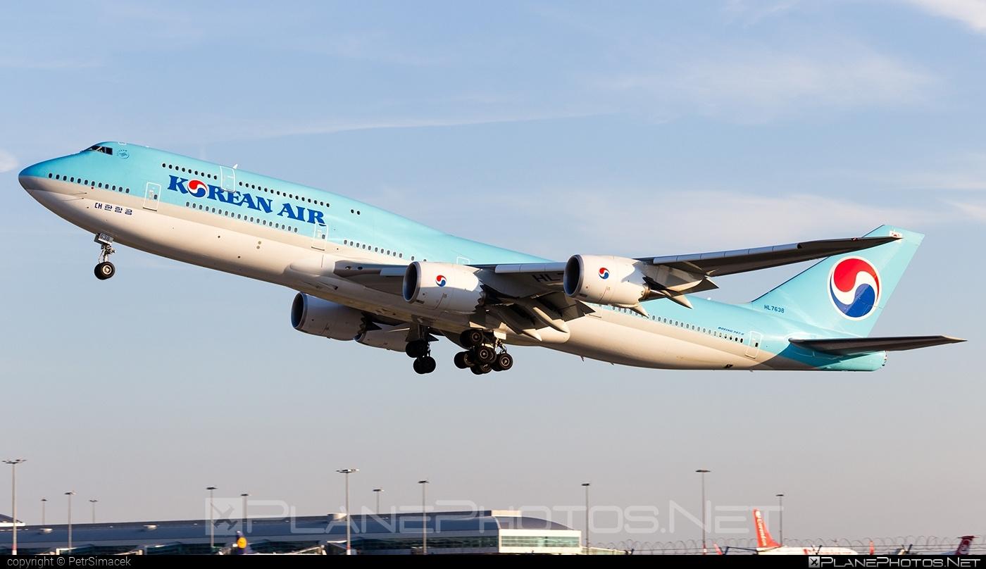 Boeing 747-8 - HL7638 operated by Korean Air #b747 #boeing #boeing747 #jumbo #koreanair