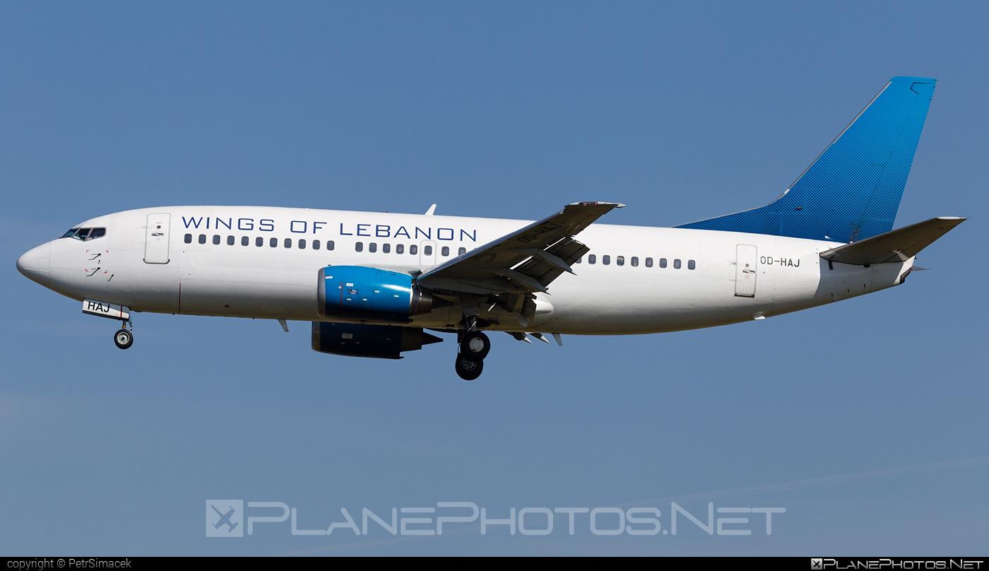 Boeing 737-300 - OD-HAJ operated by Wings of Lebanon #b737 #boeing #boeing737