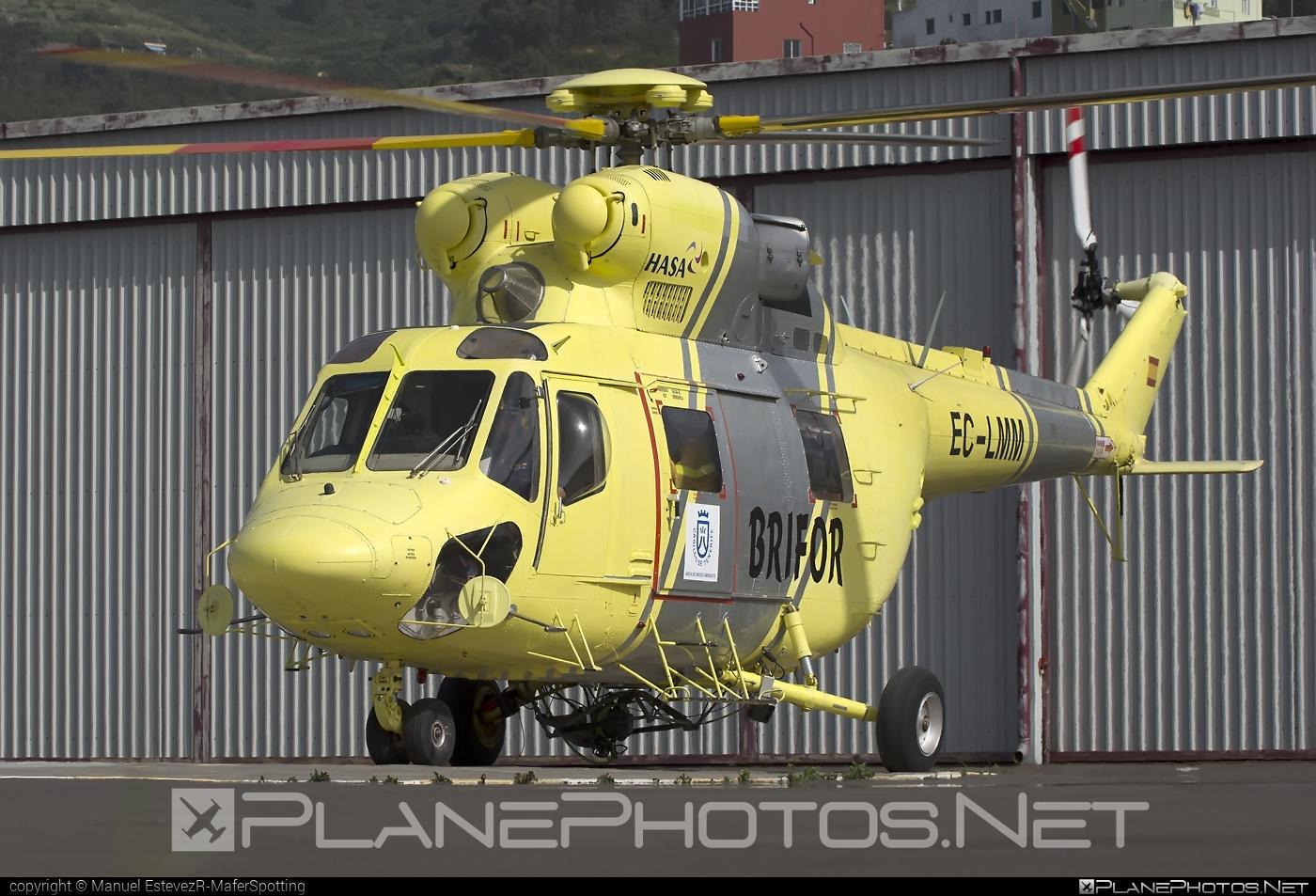 PZL-Świdnik W-3AS Sokol - EC-LMM operated by Heliseco #pzl #pzlswidnik