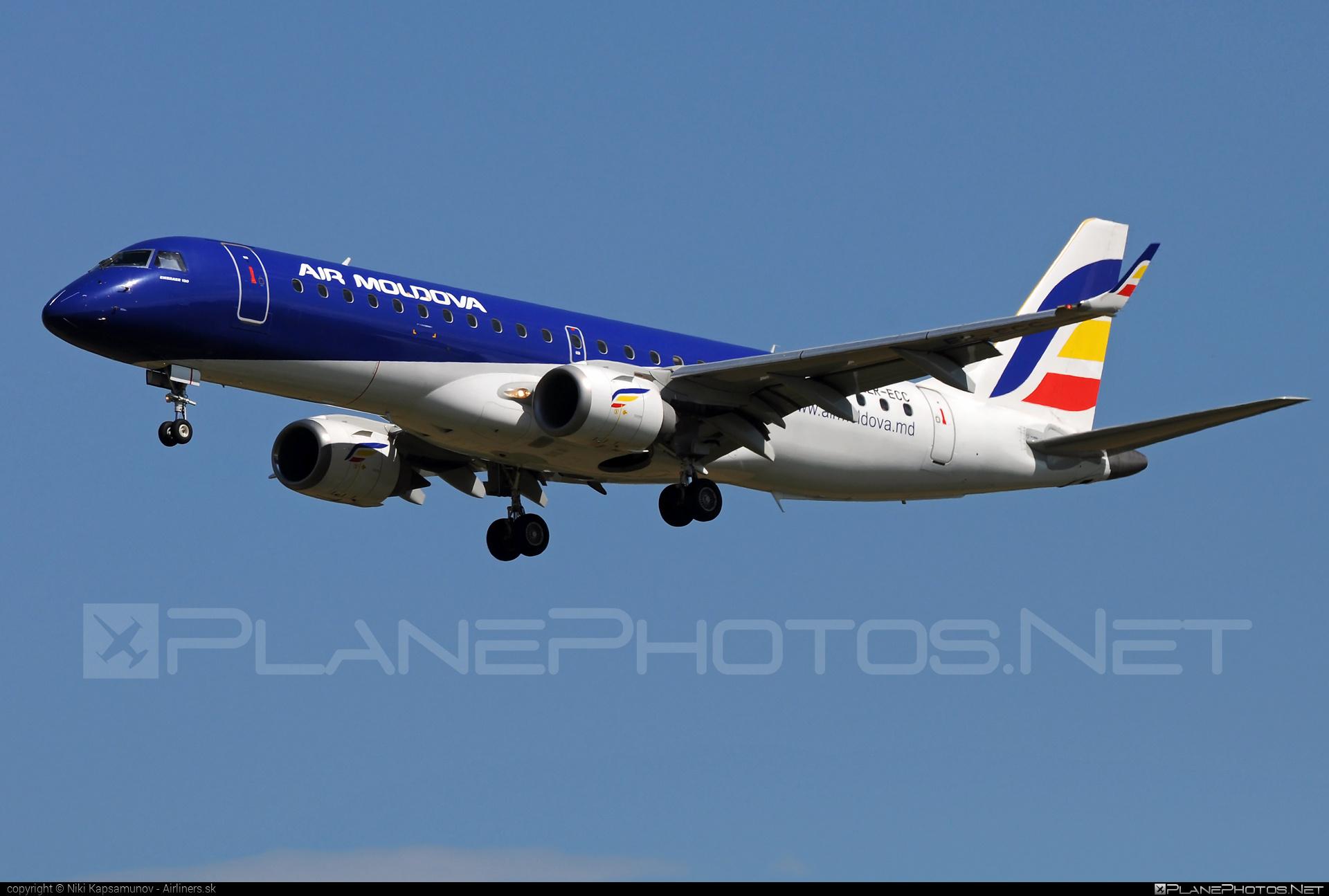 Embraer E190IGW (ERJ-190-100IGW) - ER-ECC operated by Air Moldova #e190 #e190100 #e190100igw #e190igw #embraer #embraer190 #embraer190100igw #embraer190igw