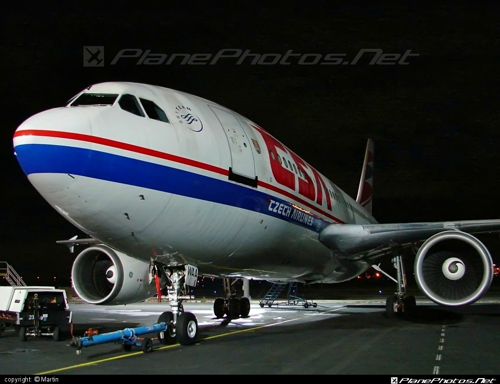 Airbus A310-304 - OK-WAA operated by CSA Czech Airlines #a310 #airbus #csa #czechairlines