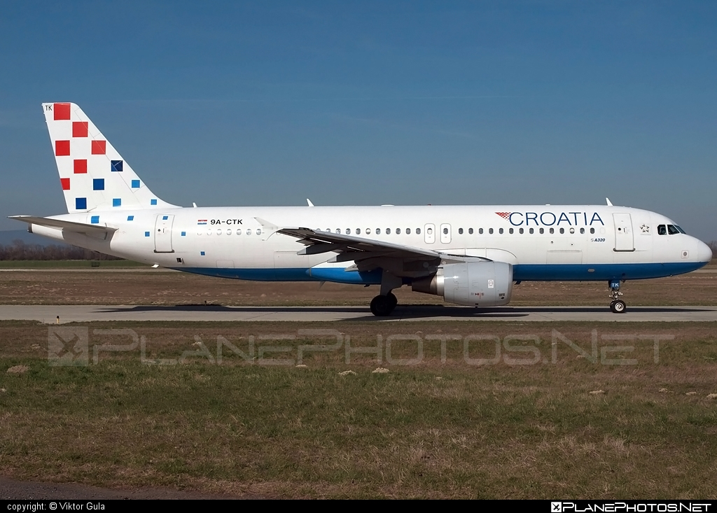 Airbus A320-214 - 9A-CTK operated by Croatia Airlines #a320 #a320family #airbus #airbus320