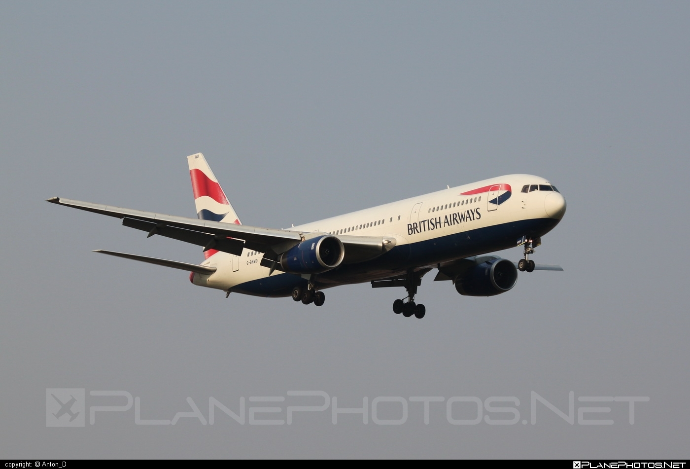Boeing 767-300ER - G-BNWO operated by British Airways #b767 #b767er #boeing #boeing767 #britishairways